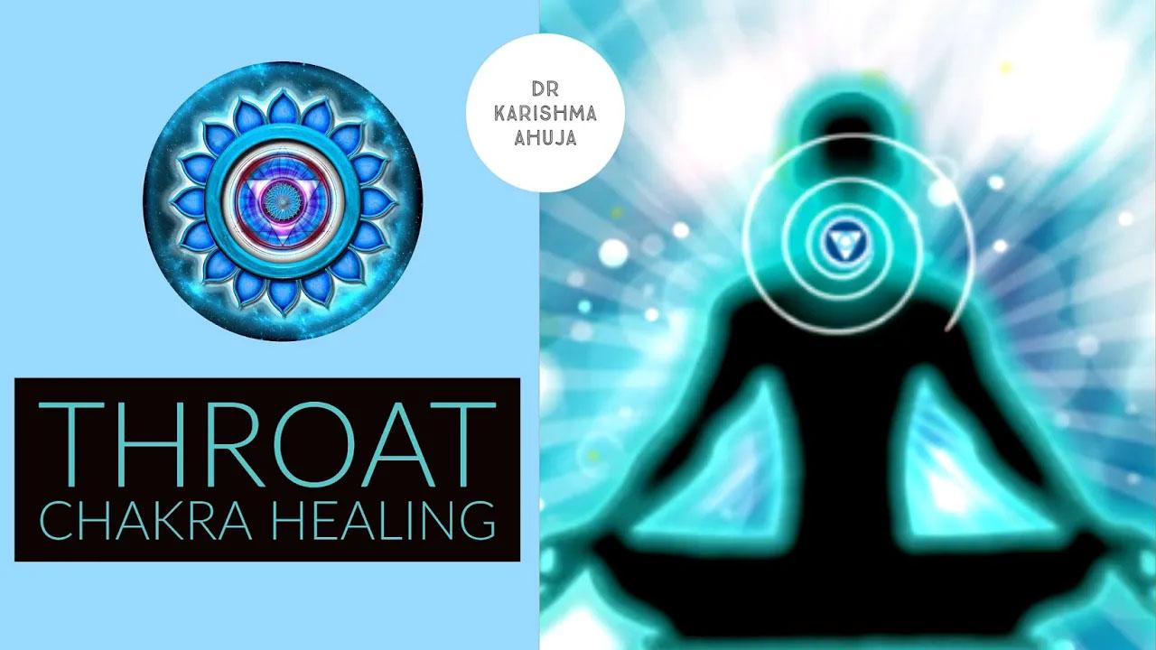 Throat Chakra Healing (Guided Meditation) by Dr Karishma Ahuja