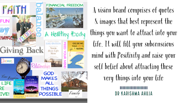LawofAttraction – Power of VisionBoard