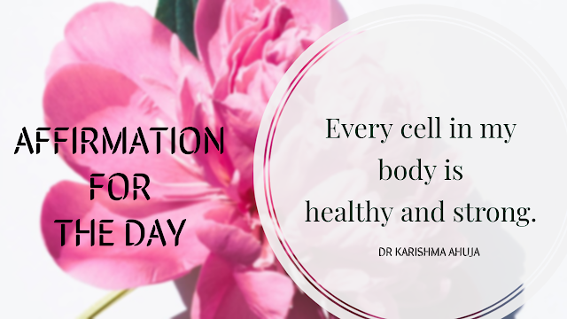 Powerful Affirmation for Health.