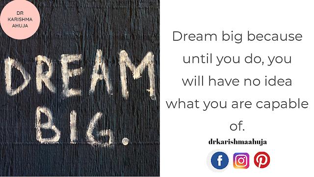 Law of Attraction – Dream Big!