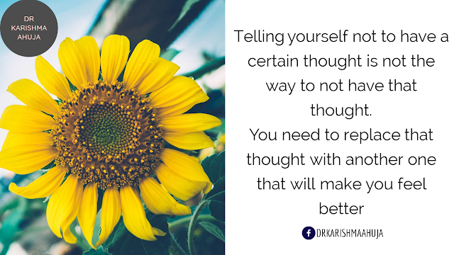 How to overcome negative thinking Dr Karishma Ahuja Quotes