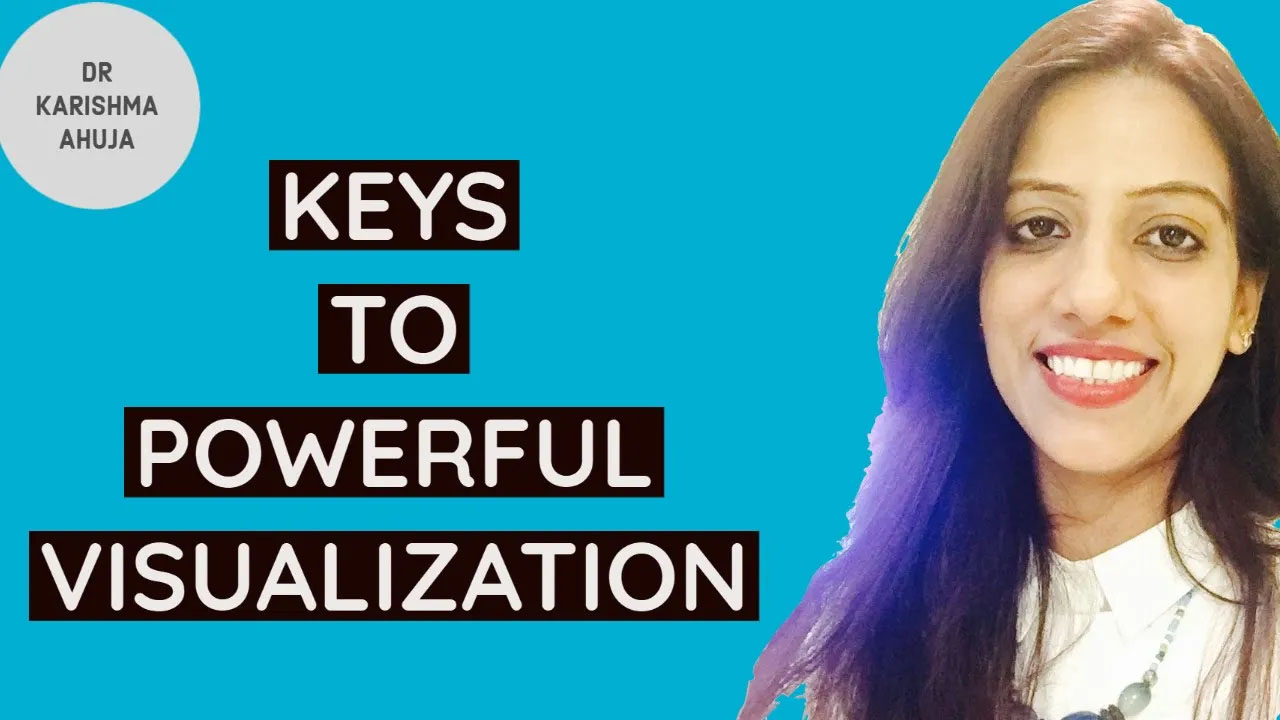 4 powerful keys to successful and Powerful visualization by Dr. Karishma Ahuja.