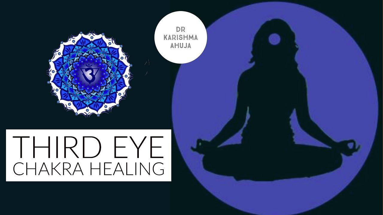 Third Eye Chakra Healing Guided Meditation