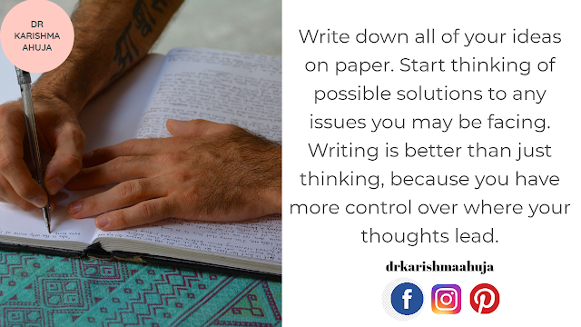 Put your thoughts down on Paper