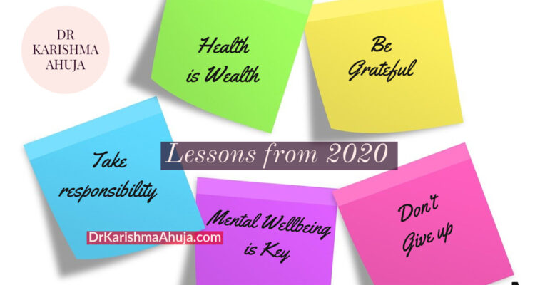 Lessons that the Year 2020 has taught us