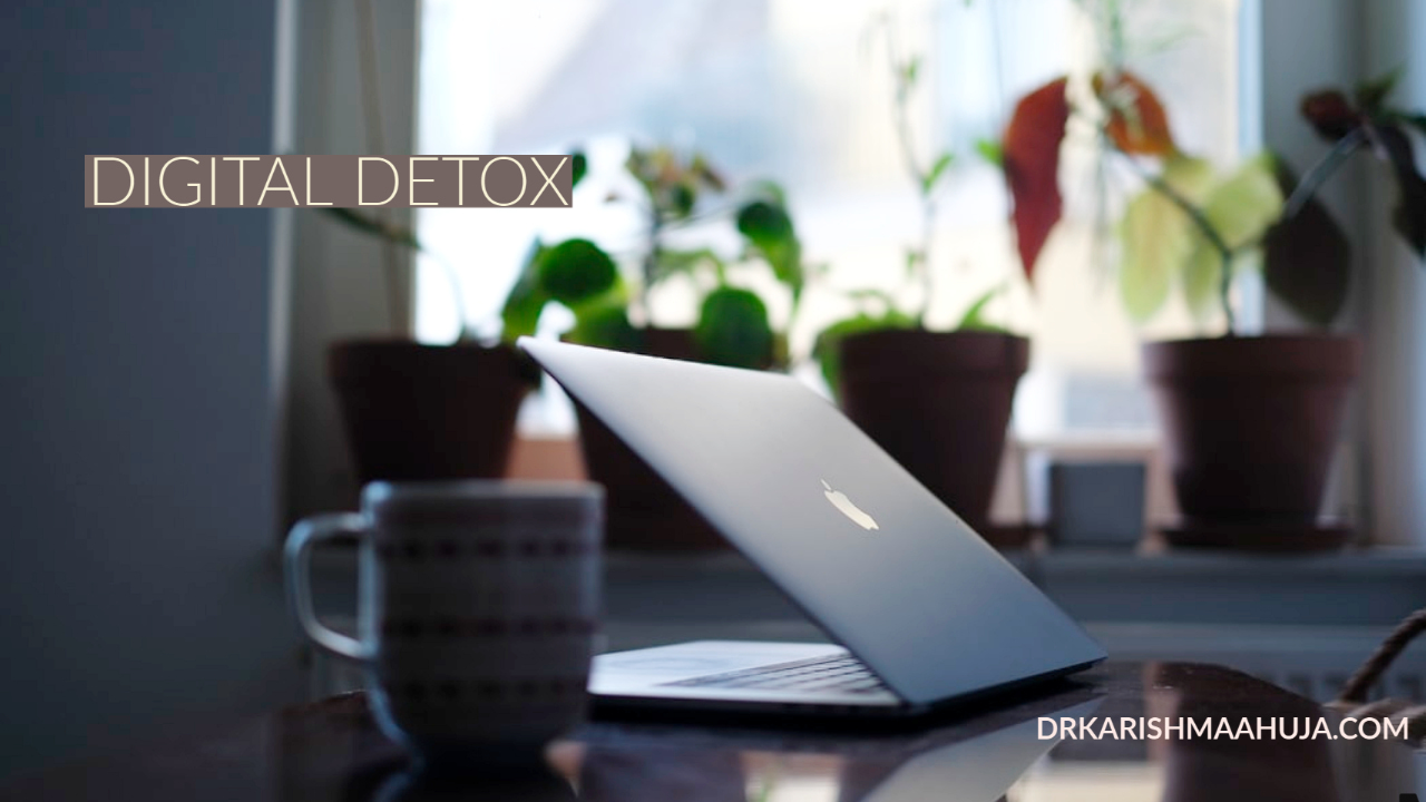 Digital detox -Disconnect to Reconnect