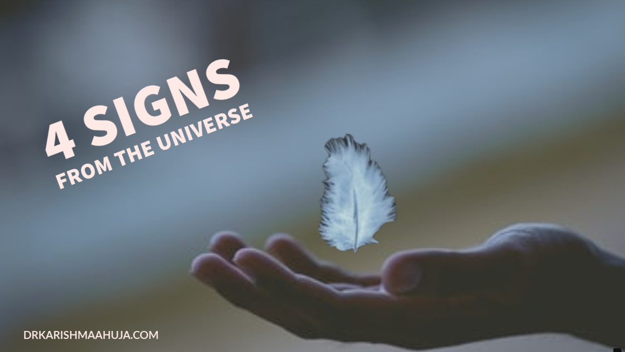 4 Signs the Law of Attraction is working or not working for you