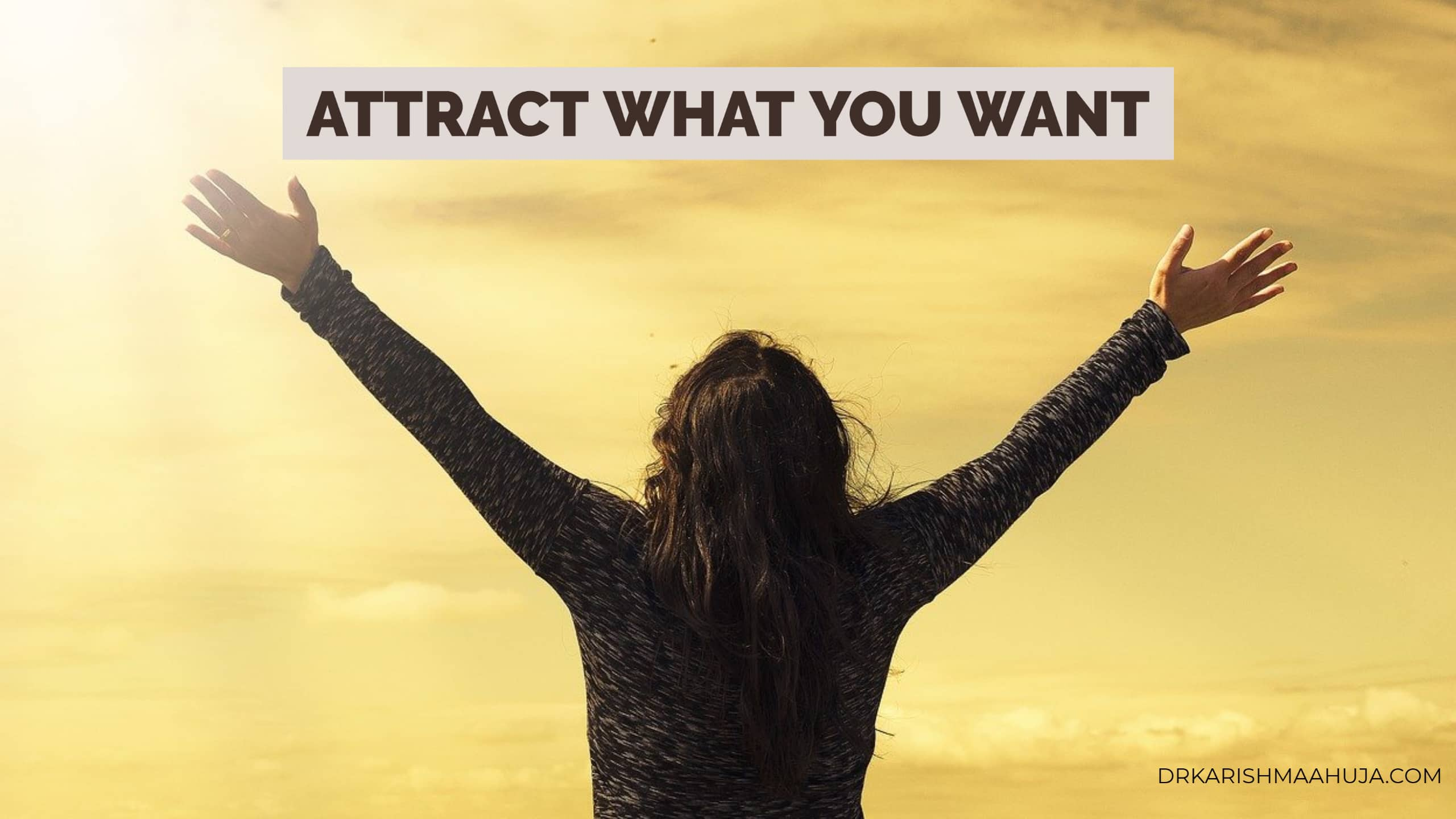Attract The Very Things You Desire With The Law Of Attraction!